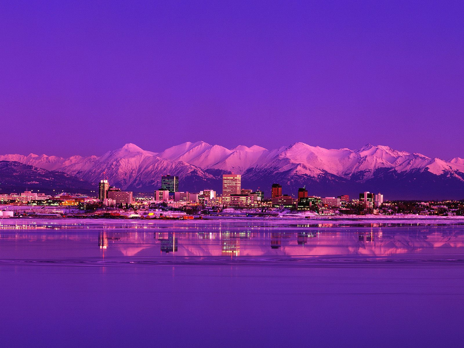 Anchorage Alaska Sunrise