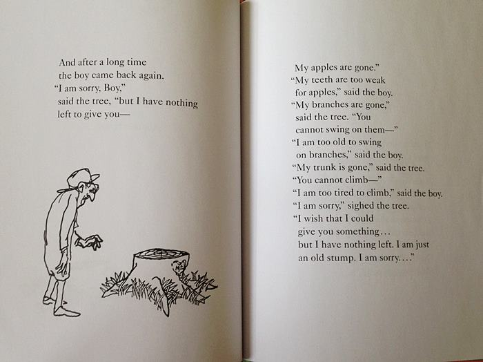 Cömert Ağaç -Giving Tree by Shel Silverstein (25)