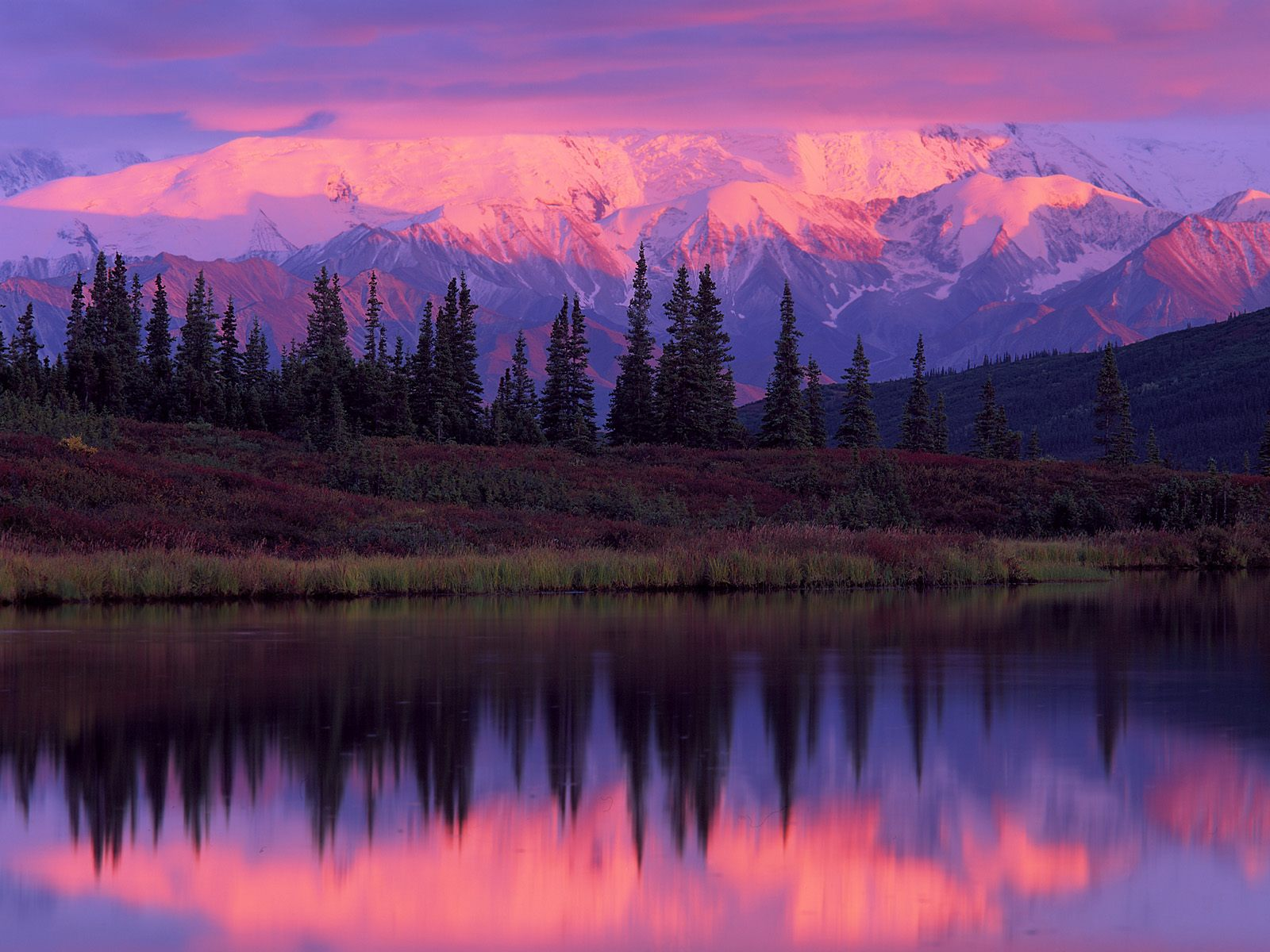 landscapes_wonder_lake_alaska_range_sunset_denali_national_park_alaska-133