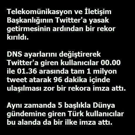 Twitter Türkiye'de Engellendi – Twitter is Blocked in Turkey