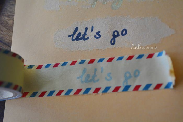 how to make your own washi tape or japanese washi tape by delianne (2)