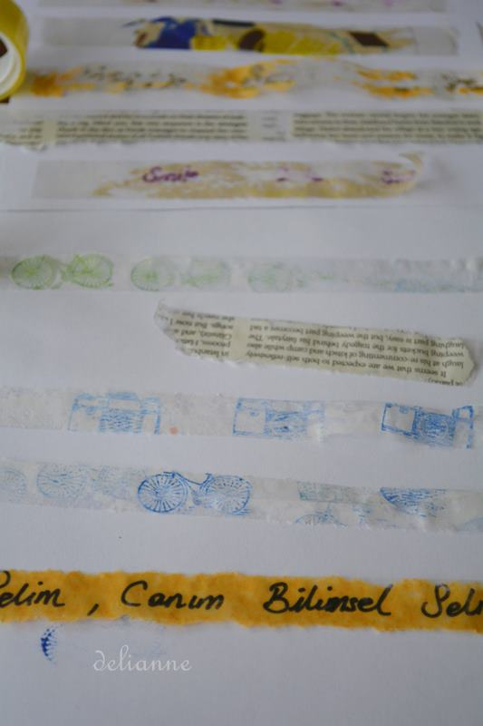 how to make your own washi tape or japanese washi tape by delianne (5)