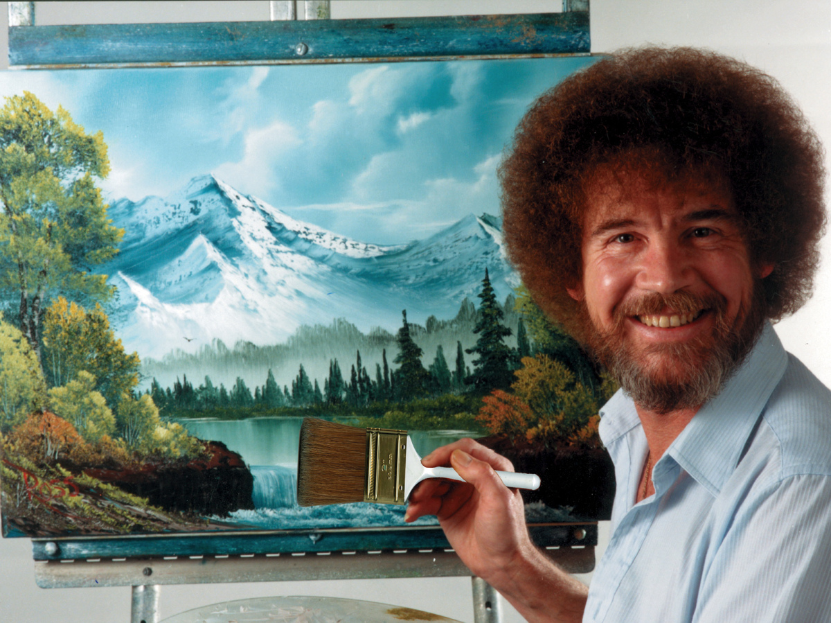 Bob Ross - Joy of Painting - Resim Sevinci