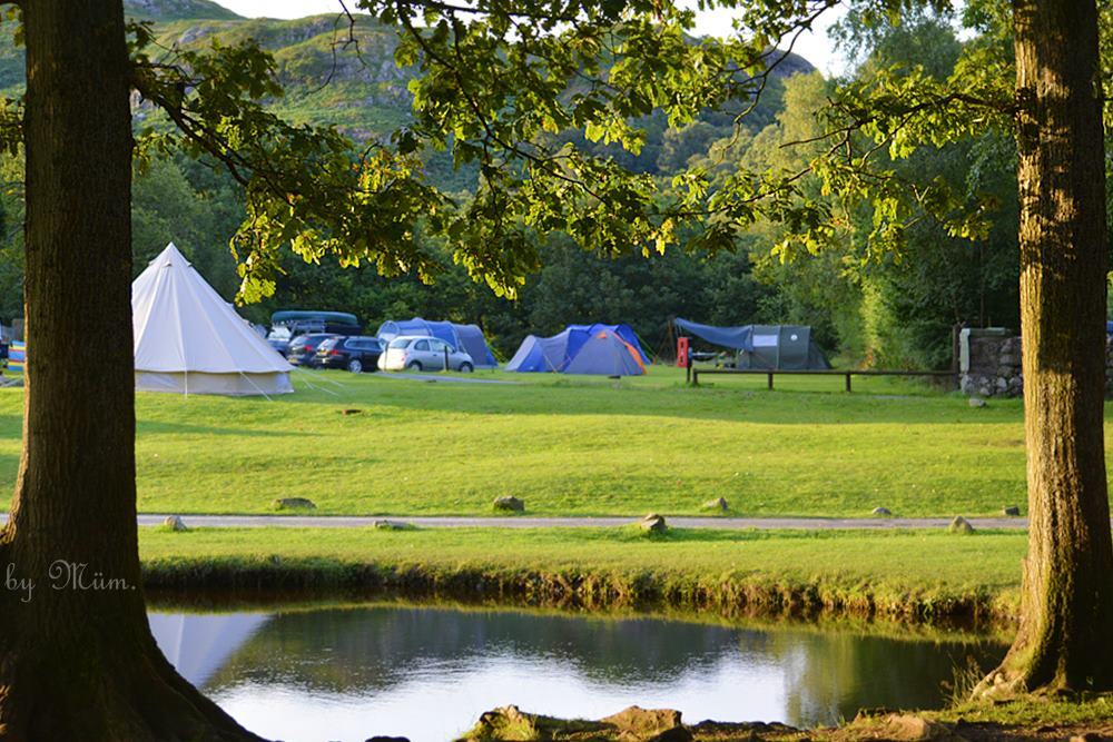 Fisherground camping, lake district by delianne